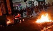ببینید | به آتش کشیدن زندانی در بولیوی به دلیل شیوع کرونا