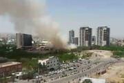 ببینید | آتش سوزی باغهای گلکار تبریز