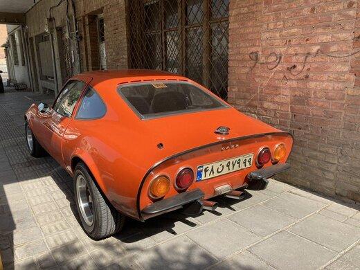 خودرو کلاسیک اُپل در تهران