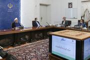 روحاني : تداعيات الحظر الامريكي الظالم عرقل انتقال العملة الصعبة الى البلاد