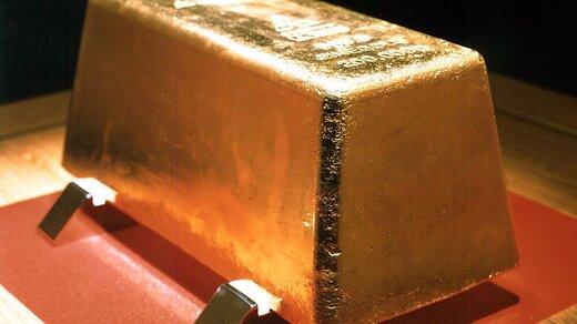 قیمت طلا به بالاترین رقم طی یک ماه گذشته رسید