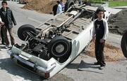 واژگونی وانت پیکان در قزوین ۲کشته برجای گذاشت