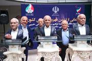 ببینید | از تندیس اسطورههای ورزش ایران رونمایی شد