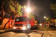 زن جوان بخاطر اختلاف خانوادگی خیاطی پدر همسر سابقش را آتش زد