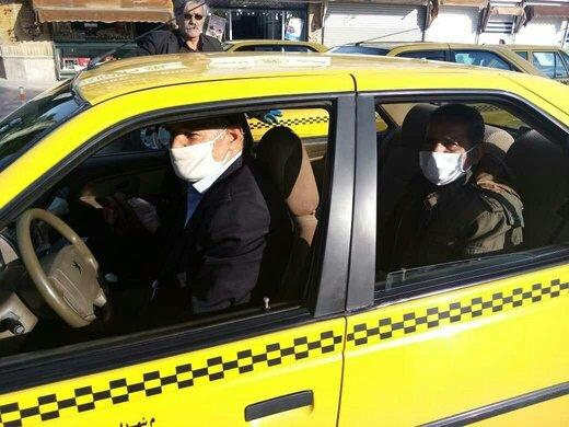 تاکسیسواری در تمام ایران فقط با ماسک