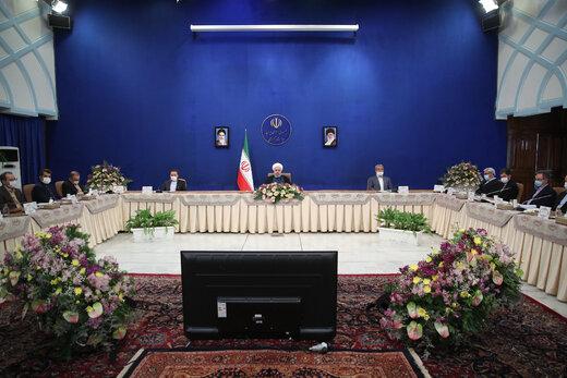 پاسخ روحانی به پیشنهاد جدید ترامپ برای مذاکره و توافق با ایران /۳ گروه بخاطر برجام داشتند دق میکردند