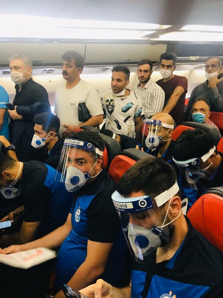تصویری باورنکردنی از ازدحام در پرواز استقلالیها