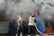 ببینید | تصویری از انفجار انبار سیلندر گاز در میدان خراسان!