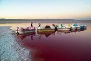 تصاویر | بهشت جدید شیراز: دریاچه مهارلو !