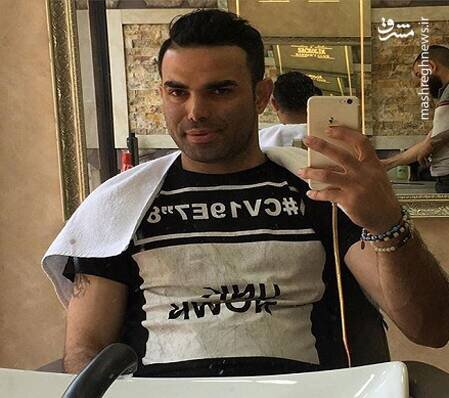 وحید خزایی، از شاخ های اینستاگرامی بازداشت شد/ عکس