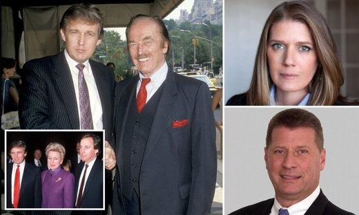 ترامپ نگران یک انتقام خانوادگی است!/عکس