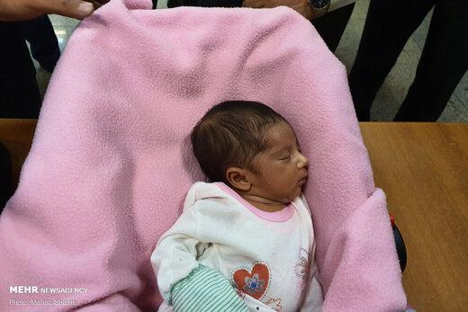 دستگیری باند فروش نوزاد در فضای مجازی