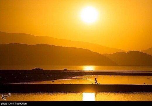 دریاچه مهارلو در شیراز