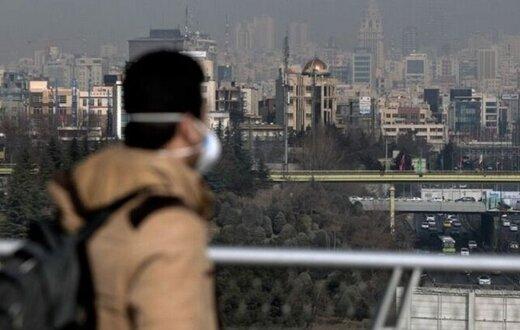 هوای تهران در آستانه ناسالم بودن برای گروههای حساس