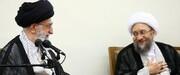 قدردانی آملی لاریجانی از بیانات رهبر انقلاب: قبلاً گفتهام و یکبار دیگر به محضر جنابعالی عرض میکنم که هیچگاه از هیچ فرد فاسدی حمایت نخواهم کرد