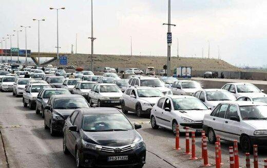 ۲۱درصد تردد در جاده های استان کاهش یافت