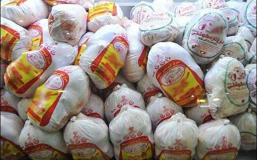قیمت مرغ کاهش یافت/ فروش همچنان بالاتر از نرخ مصوب