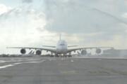 ببینید | وداع با هواپیمای تاریخی