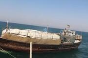 ۱۵.۸ میلیارد ریال کالای قاچاق در بندر «گناوه» با تلاش دریابانی کشف شد