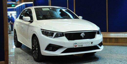 توضیح مدیرعامل ایران خودرو درباره تولید خودرویK۱۳۲
