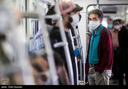 گزارش تاسفبار شهردار از ماسک نزدن مردم در مترو و اتوبوس: نمیتوانیم برخورد کنیم