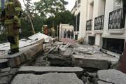 تصاویر | انفجار در ساختمان ویلایی در شهرک غرب