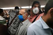 ببینید | شلوغی مترو تهران بدون رعایت  فاصلهگذاری اجتماعی