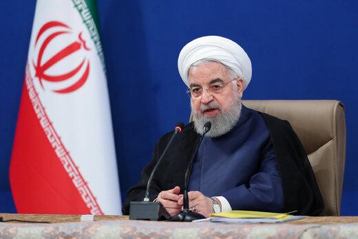 رئیس جمهور «فاز اول خط دوم آبرسانی به شیراز» و «سد مخزنی شرفشاه» سومار را افتتاح کرد