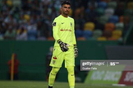 امیر عابدزاده دروازهبان برتر لیگ پرتغال/عکس