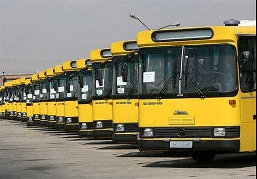فعالیت اتوبوسهای شهری بوشهر متوقف شد