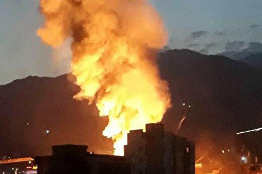 ببینید | فیلمی هولناک از لحظه انفجار مهیب در کلینیک سینا که تا به حال ۱۳ قربانی داشته