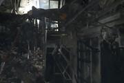 ببینید | تصویری از محل آتشسوزی در خیابان شریعتی