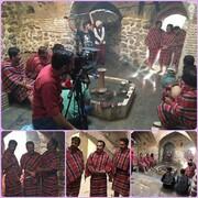 مجموعه طنز تلویزیونی شیش و ده در حمام تاریخی ابراهیم آباد در حال تولید است