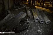 ببینید | تصاویری از داخل کلینیک سینا اطهر که دیشب دچار انفجار و آتش سوزی شد