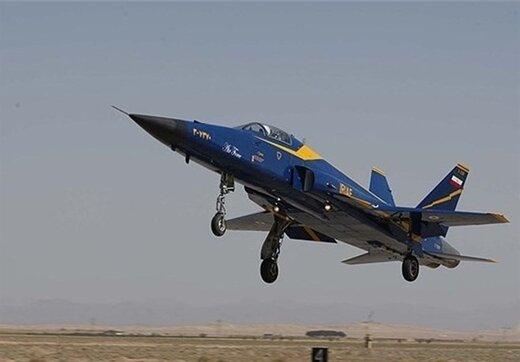 این جنگنده ایرانی، گردبادی در آسمان منطقه است /جمله ای که رهبر انقلاب درباره «صاعقه» گفتند +تصاویر