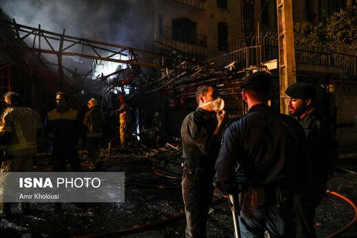 آخرین وضعیت ۹ مصدوم حادثه آتشسوزی کلینیک سینا اطهر