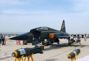 جنگنده ایرانی که  اف ۵ تایگر آمریکایی را پشت سر گذاشت /جنگنده آذرخش، استوانه صنعت هوایی ایران در اوج تحریمها +تصاویر
