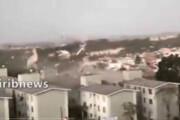 ببینید |  طوفان خطرناک در برزیل