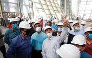 تلاش های بی وقفه و شبانه روزی برای بهره برداری از ترمینال جدید فرودگاه بین المللی کیش