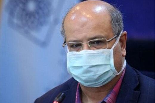 هشدار زالی نسبت به افزایش آمار مبتلایان به کرونا در تهران