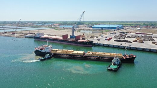 افزایش ۲۲۱ درصدی کشتی های ورودی به مجتمع بندری کاسپین منطقه آزاد انزلی
