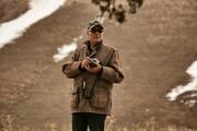 عکس یادگاری عباس کیارستمی پشتصحنه دو فیلم بهیادماندنی