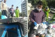 کیسه حاوی پول نقد در بین زبالهها به صاحبش بازگرداندهشد