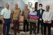 دیدار با موسس دانشگاه معارف و انسان سازی در ورزش استان سمنان