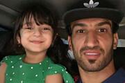 ببینید | لطیفهگویی دلنشین دختر حسینی ماهینی در کنار پدرش