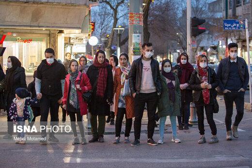 ببینید | تهران در وضعیت هشدار کرونایی