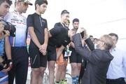 قهرمانی تیم سیاه جامگان منطقه آزاد انزلی در نخستین دوره مسابقات لیگ دوچرخه سواری کورسی گیلان