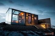 چراغهای درخشان سقف این اقامتگاه قابل شمارش نیست! +تصاویر