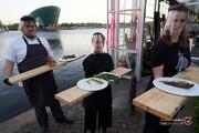 ابتکار جالب رستوران هلندی برای حفظ فاصله اجتماعی! +تصاویر