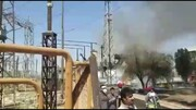 ببینید |  آتش سوزی در نیروگاه زرگان بر اثر انفجار ترانس